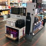Danzka vodka christmas promotion copenhagen airport