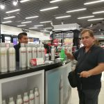 DANZKA Vodka Airport Promotion Lima