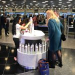 DANZKA Vodka Airport Promotion Zurich