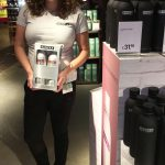 DANZKA vodka airport promotion amsterdam